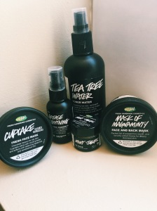 lush empties review