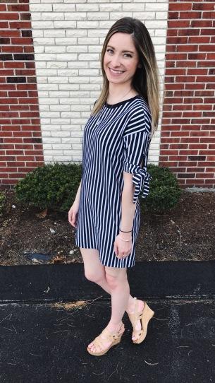 ASOS striped dress