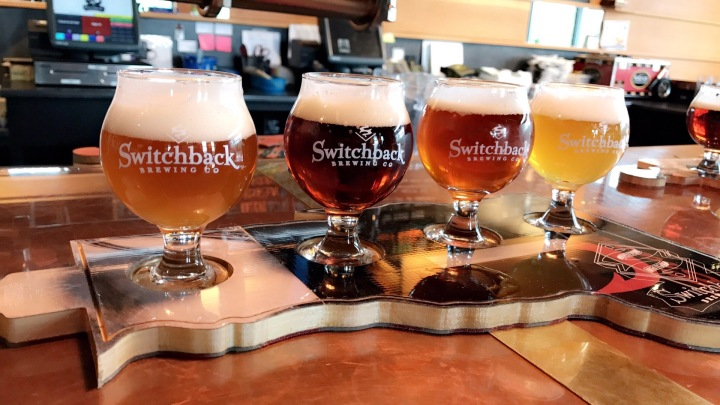 my weekend switchback brewery