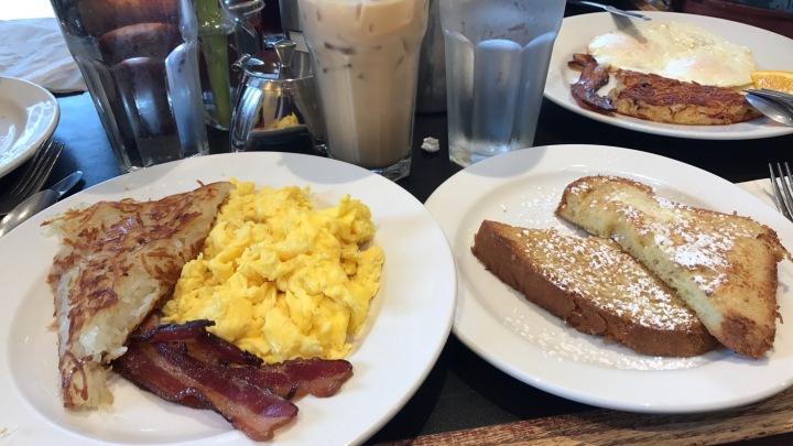 breakfast at Mirabelles