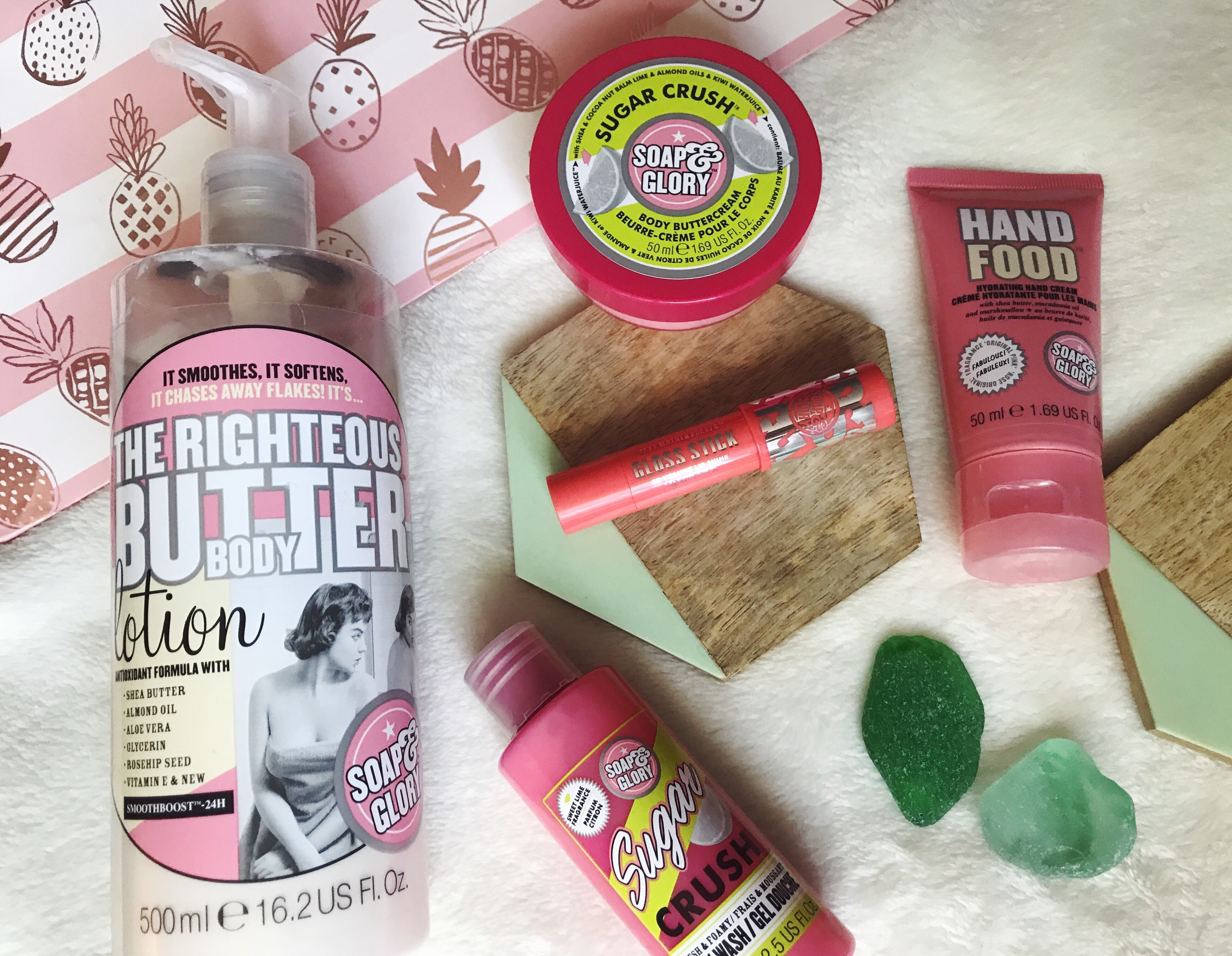 trying soap & glory