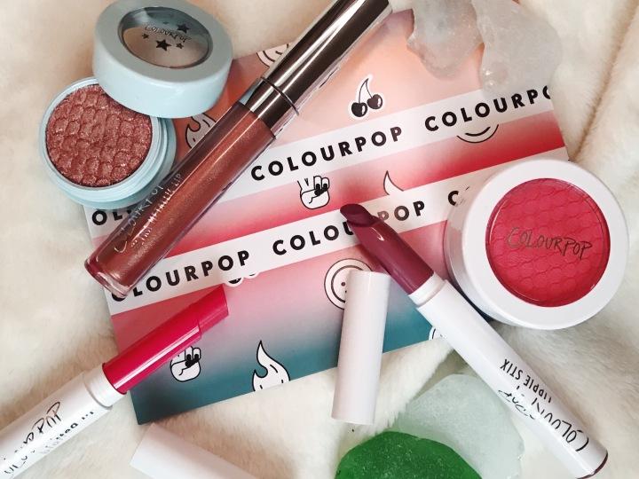 colourpop haul review blog