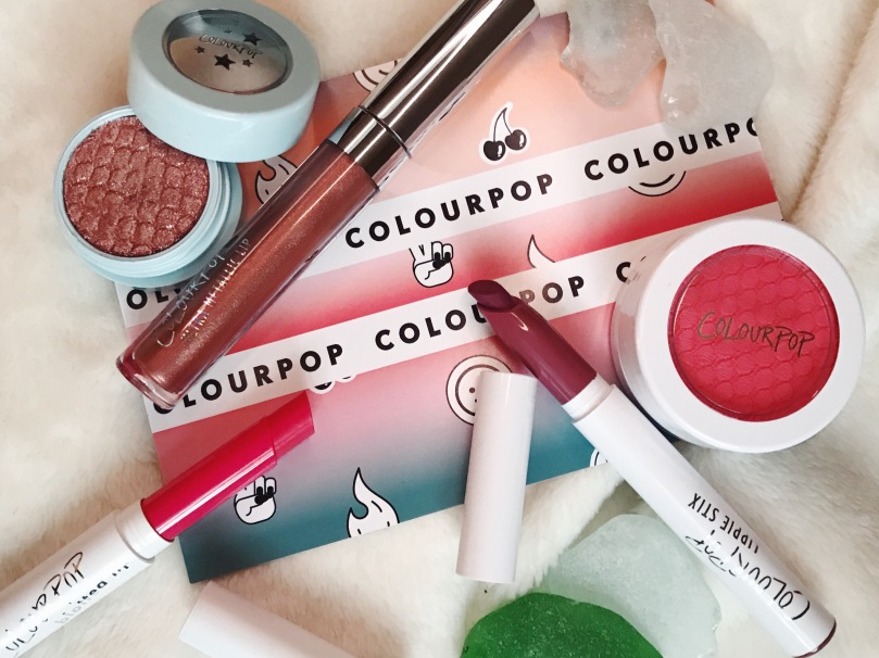 colourpop haul review blog