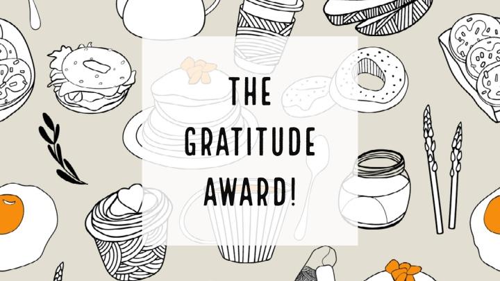 the gratitude award