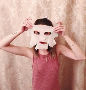 burt's bees sheet mask review