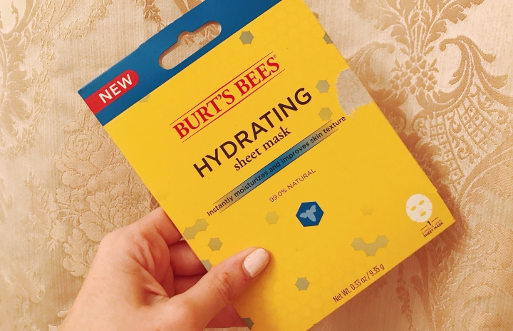 burt's bees sheet mask review
