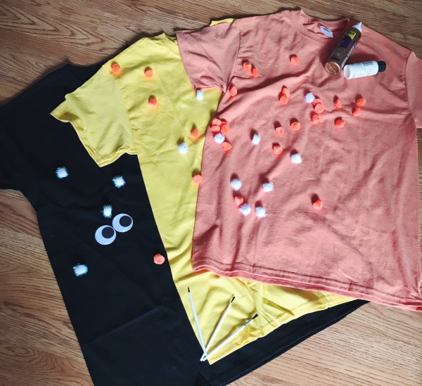 Halloween shirt craft
