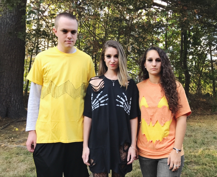 DIY halloween shirts