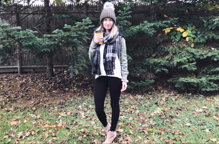 cold weather layers OOTD