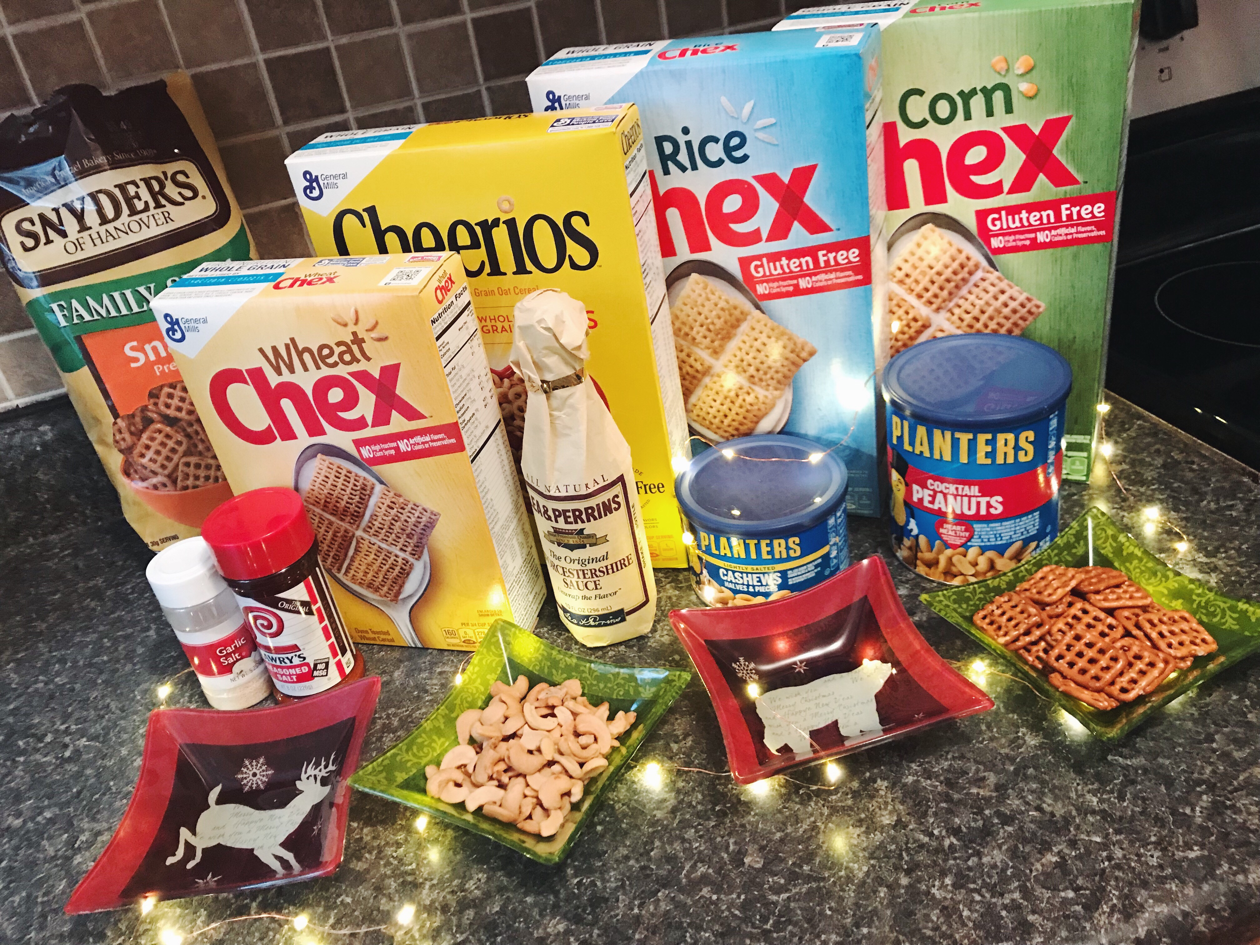 baked chex mix recipe