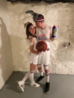 space jam couple costume