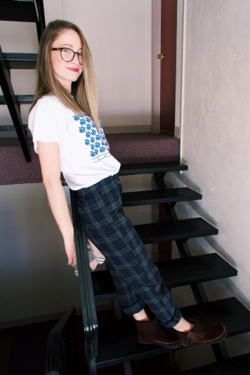 vintage t-shirt outfit