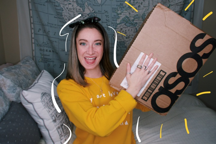 SPRING ASOS HAUL &TRY-ON
