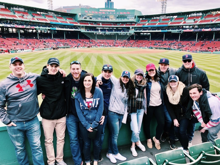 fenway with friends