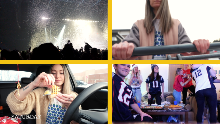 WEEKEND VLOG | CONCERT, CHICK-FIL-A & SUPER BOWL CHAMPS