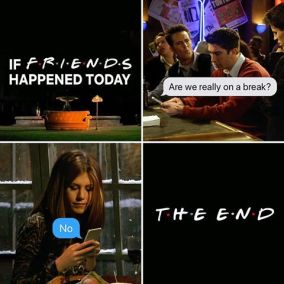 if friends filmed today