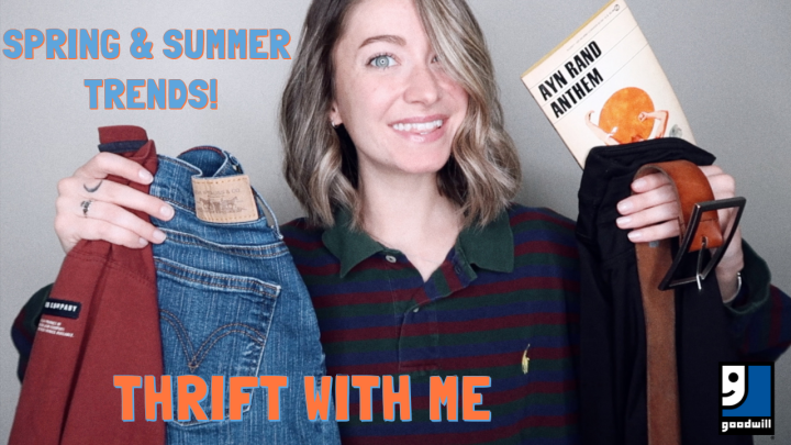 THRIFT WITH ME FOR SPRING & SUMMER TRENDS