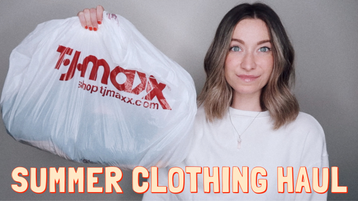 TJ MAXX CLOTHING HAUL & TRY-ON