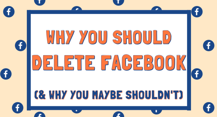 5 REASONS TO DELETE FACEBOOK