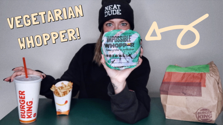 BURGER KING IMPOSSIBLE WHOPPER MUKBANG