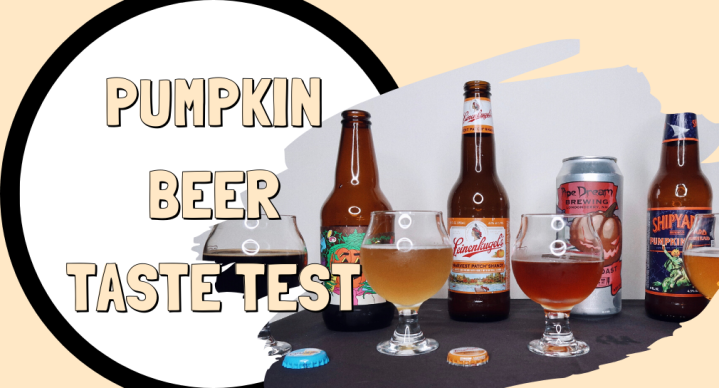 PUMPKIN BEER TASTE TEST